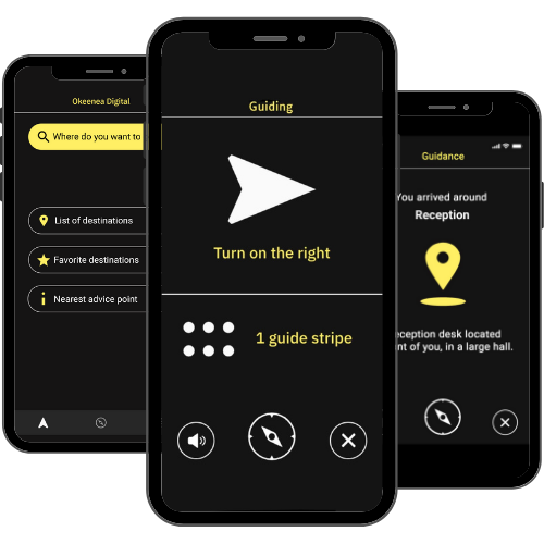 Evelity application for building accessibility